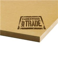 CaberWood MDF Trade 2440 x 1220 x 18mm is a medium density fiberboard with a smooth face which makes it ideal for use in shopfitting applications, furniture manufacture, general construction and fitting out of caravans / motorhomes.